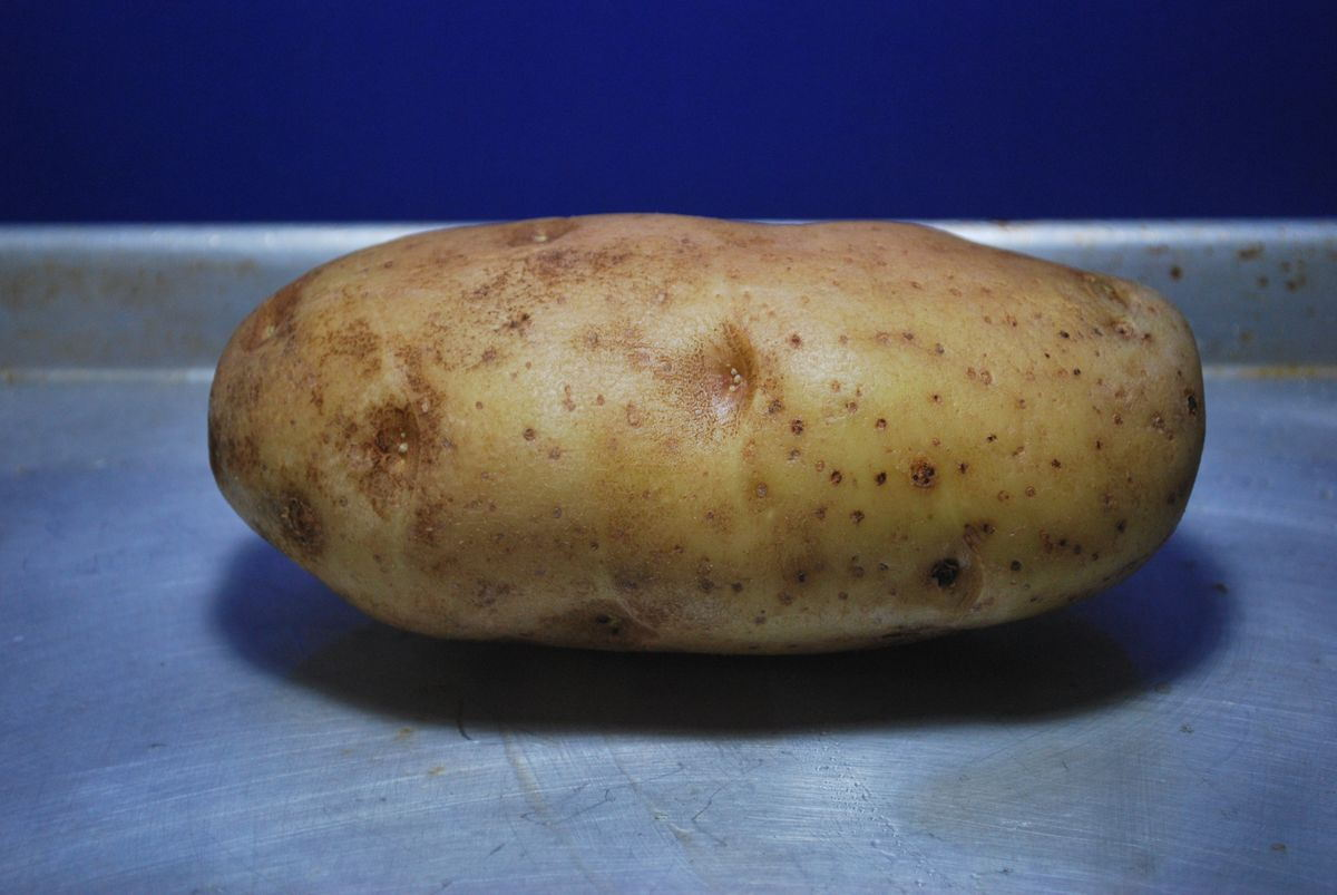 how to cook a white baked potatoe