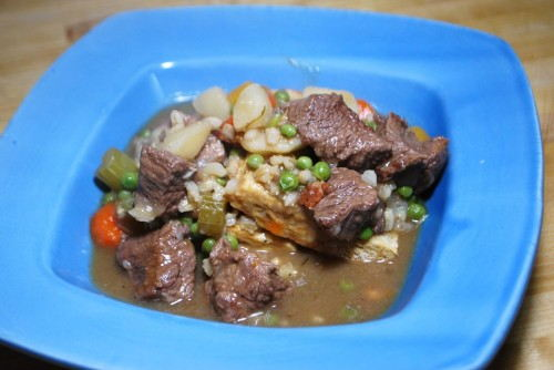 You can't beat Beef, Barley and Beer