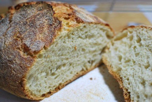 Look at the bread.  Light and fluffy.  Perfect crust.  Amazing!!!