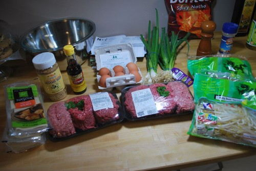 This is the ingredients for a double batch