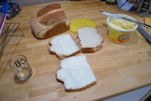 Butter your bread