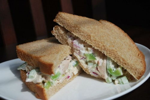 I have always loved chicken salad.  It is amazing.