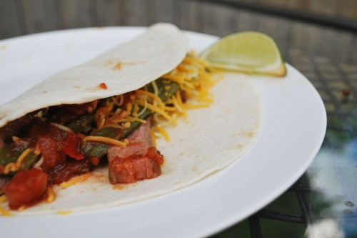 The tacos are great with just a little lime juice to add a tad bit more acidity.
