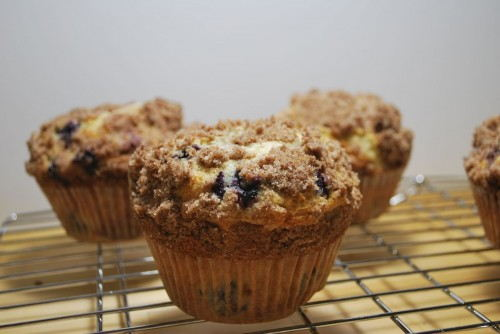 These muffins are amazing.