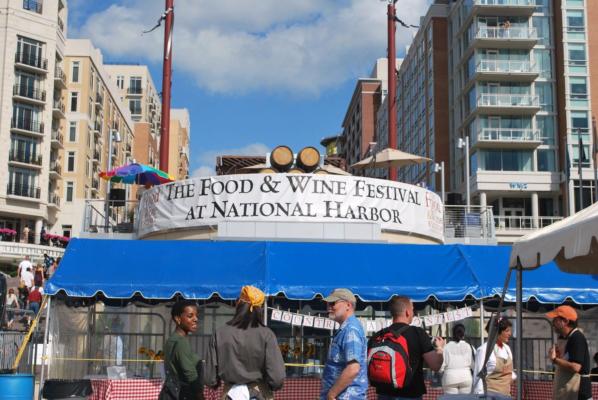 Food and Wine Festival At National Harbor
