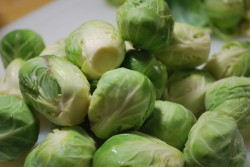 Peel the outer layer off and rise the sprouts again.