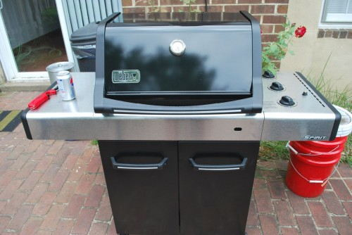 The new grill