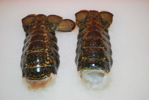Two 6oz Lobster Tails