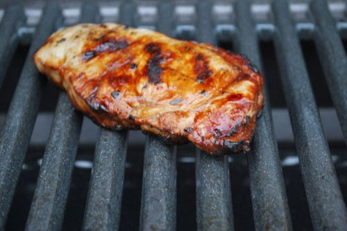 The marinade is amazing on pork chops.