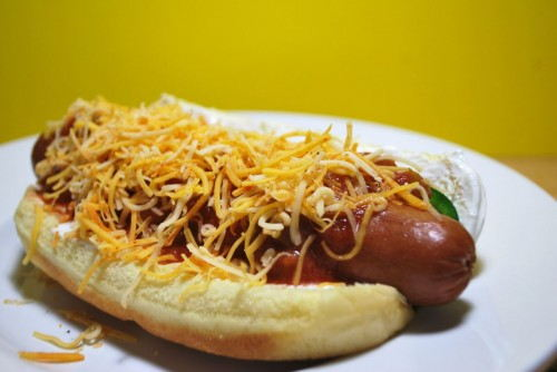 Best hot dog ever, ok it is missing bacon but otherwise best hot dog ever!