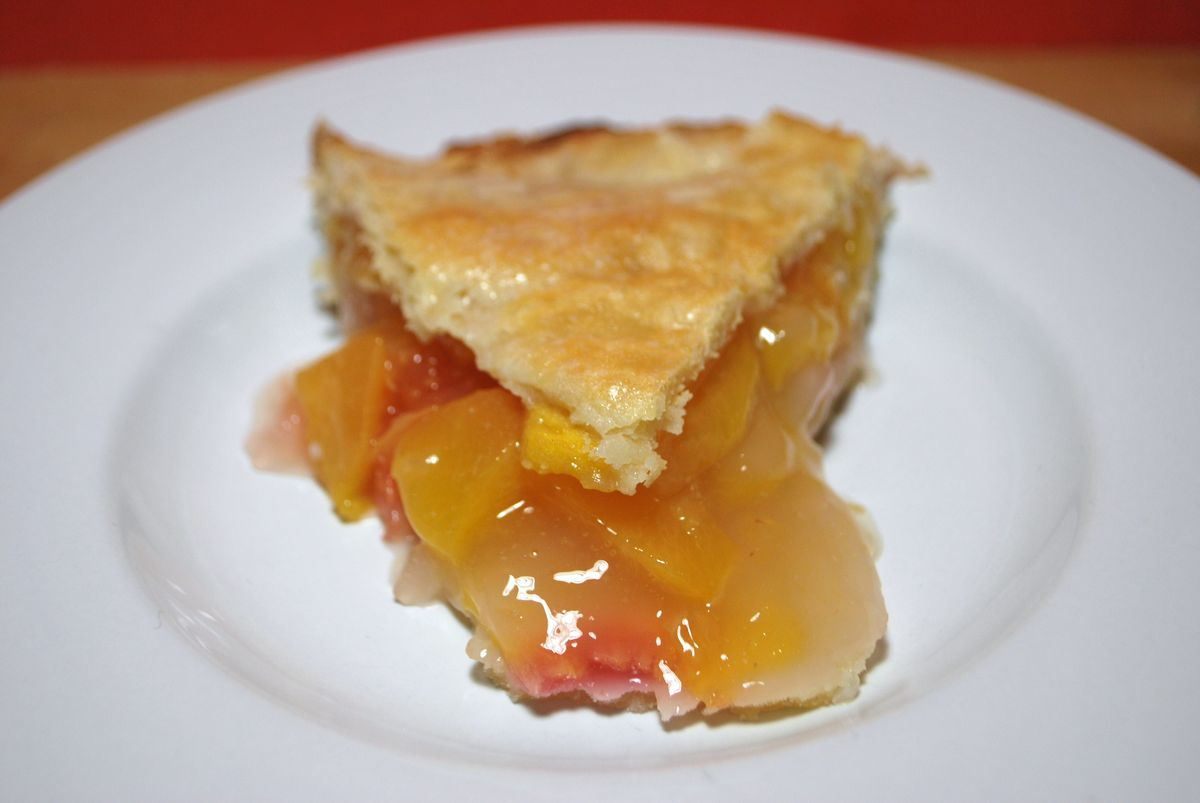 Peach Pie - SavoryReviews