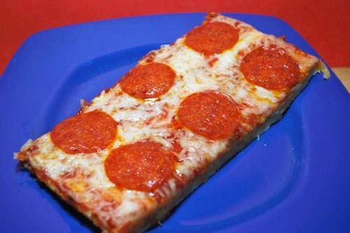 School Cafeteria Pizza