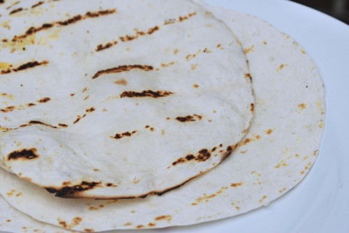 Grill the Tortillas
