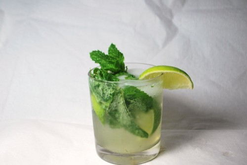 The Mojito - Sweet and minty, the perfect drink to mask your garlicy breath.