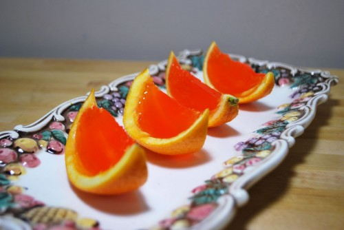Orange Jello Shots