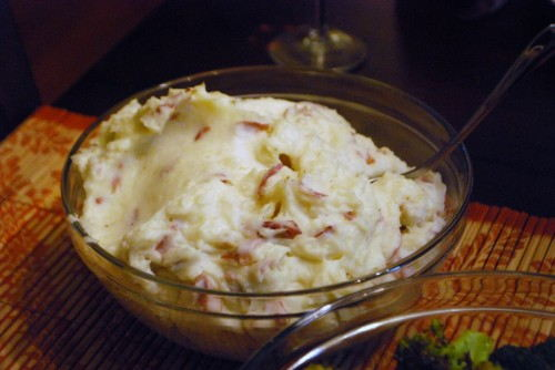 Whipped Red Skin Potatoes
