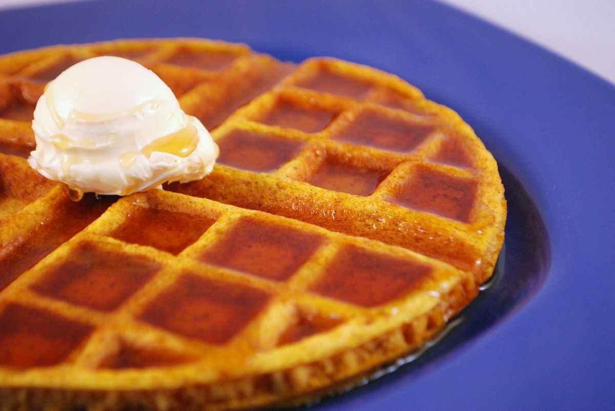 Pumpkin Waffles - SavoryReviews by Rex BBQSavoryReviews by Rex BBQ