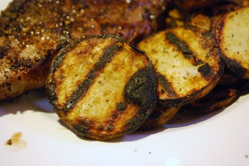 Grilled and ready to eat