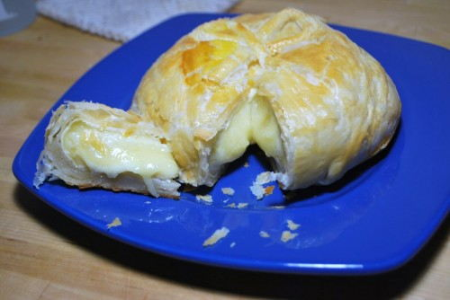 Puff Pastry Wrapped Brie
