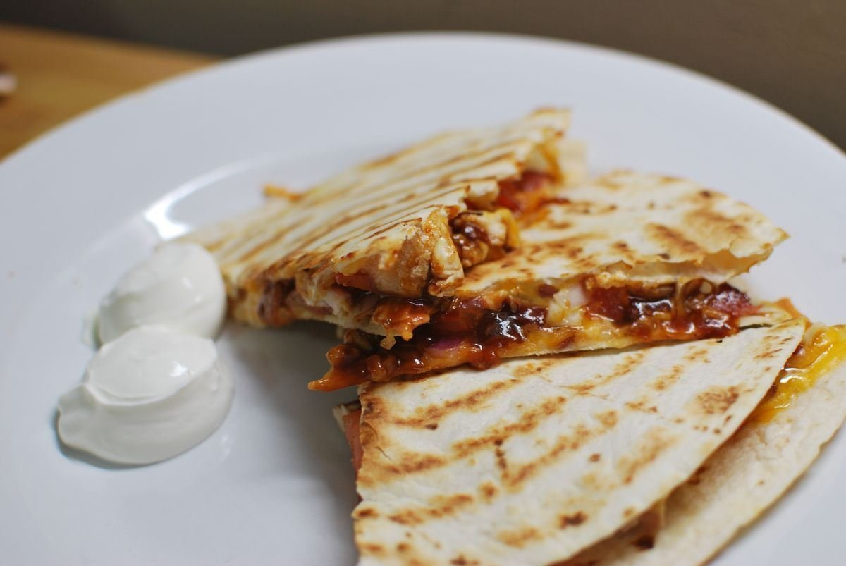 An amazing quesadilla