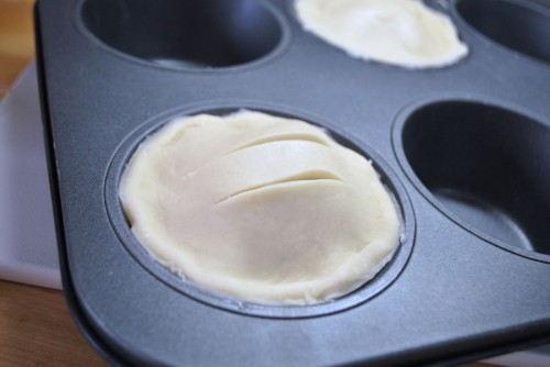 Slice a few vents in the top crust