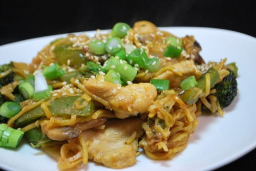Chicken Chow Mein Part 2