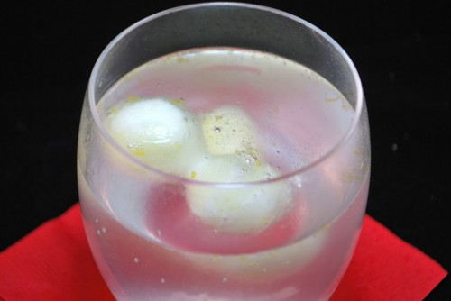 Vodka Lemon Sorbet