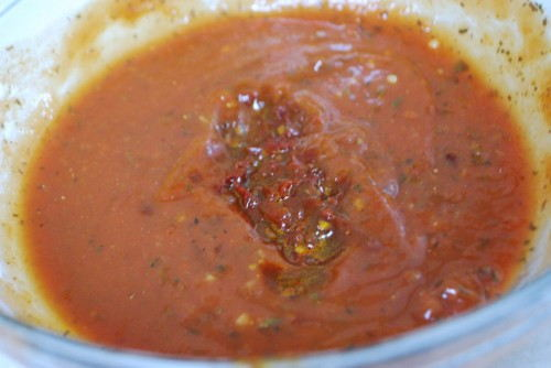 Chipotle Pizza Sauce