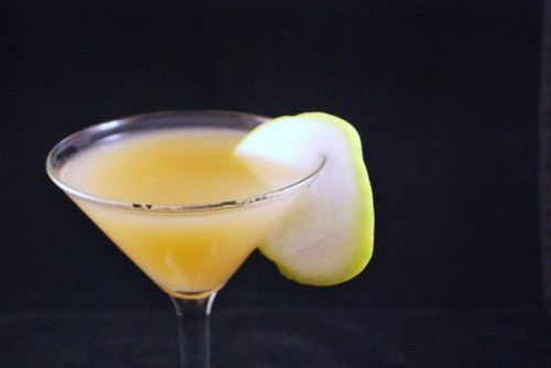 Pear Martini Closeup
