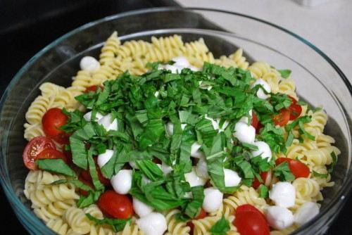 Combine the pasta ingredients