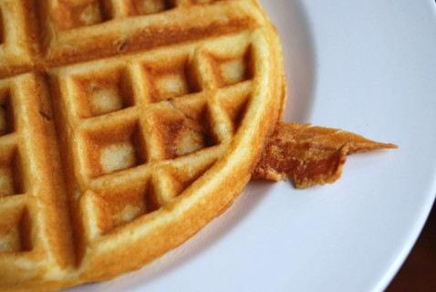 The bacon waffle