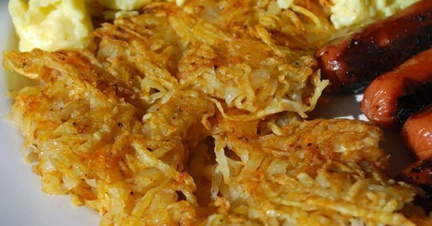 Homemade Hashbrowns