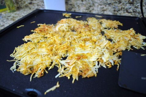 Crispy and delicious hashbrowns
