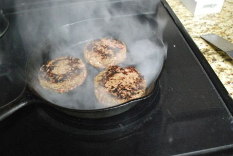 Fry up the burgers, get a nice sear