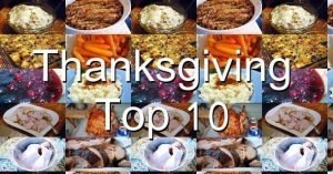 Thanksgiving Top 10 Recipes