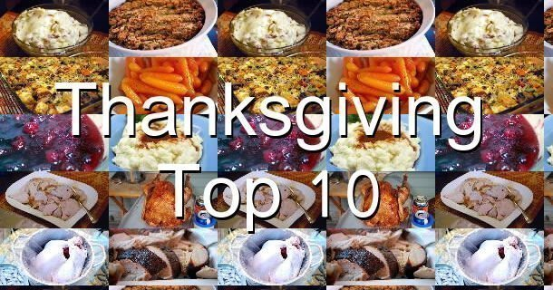 Thanksgiving Top Ten 2014