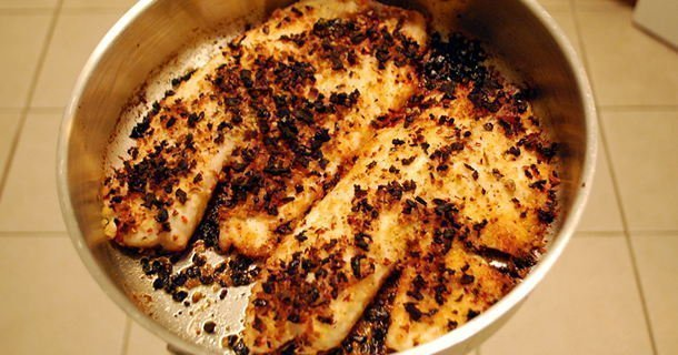 Epic Failure – Sun-dried Tomato Tilapia
