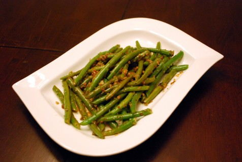 Money shot of Haricots Verts