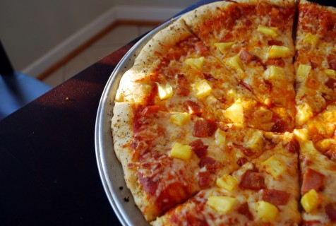 Perfect Easter Leftover, Hawaiian Pizza