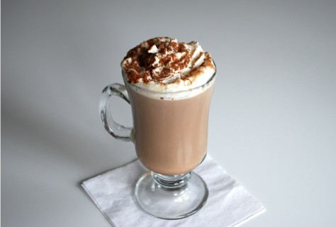 Hot Spiked Mocha Cocktail