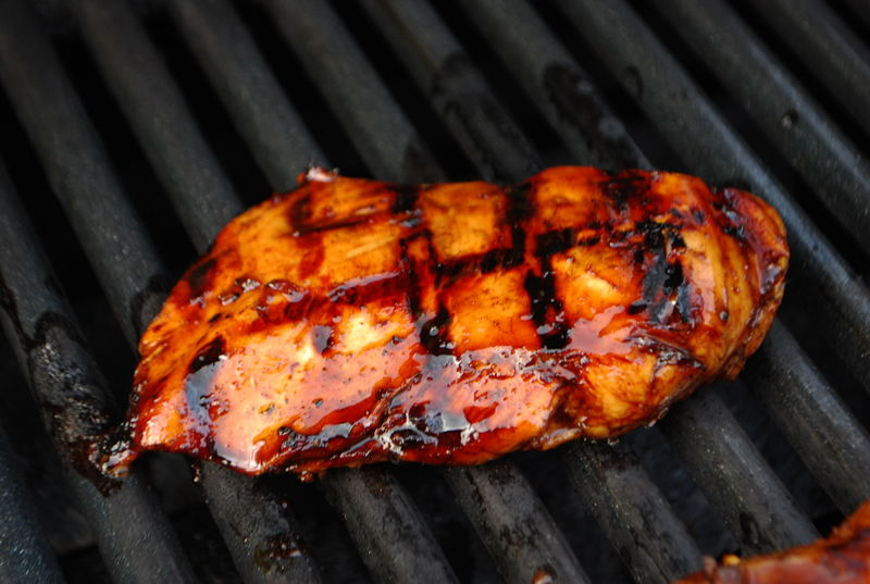 Orange and Honey Grilled Chicken - SavoryReviews by Rex ...