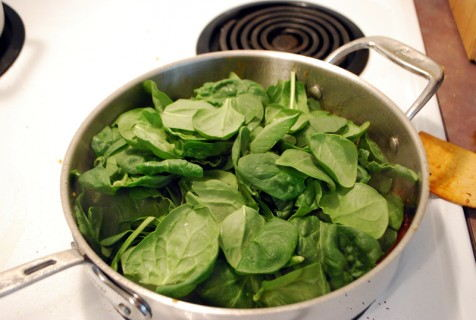 Add the Spinach