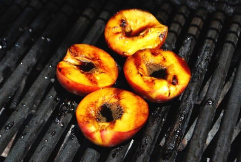 Continue grilling after flipping