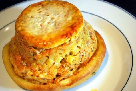 Inverted pot pie