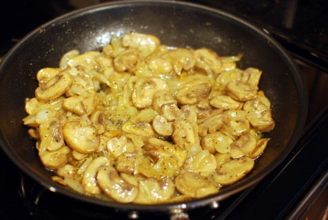 Cook until the Mushrooms release their moisture