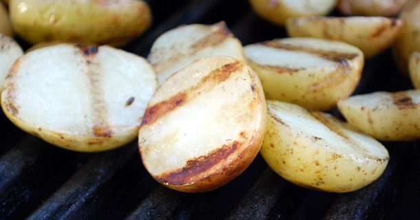 Quick Grilled Potato Salad