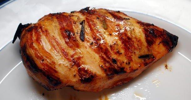 Lemon Garlic Grilled Chicken