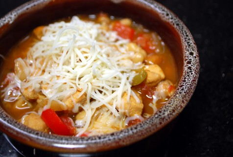 White Chicken Chili CloseUp