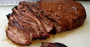 Marinated and Broiled Flat Iron Steaks