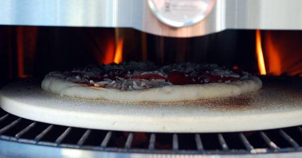 Pizza on the Kettle Pizza